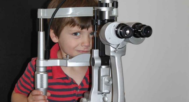 Eye tests for children