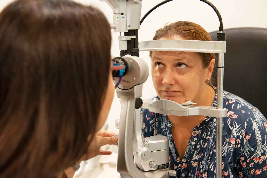 Book an eye test appointment