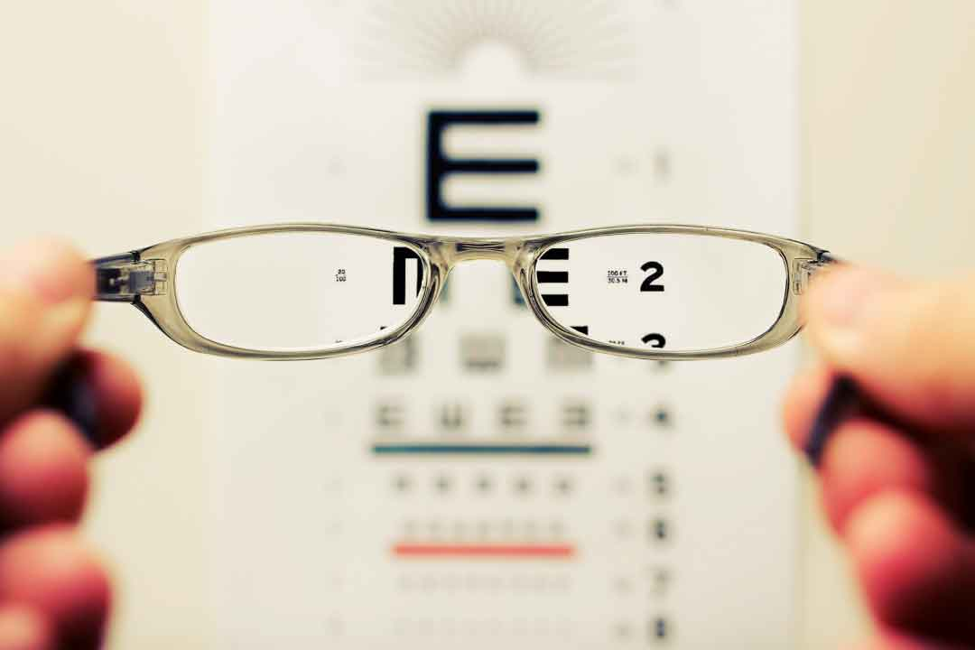 Signs you need an eye test
