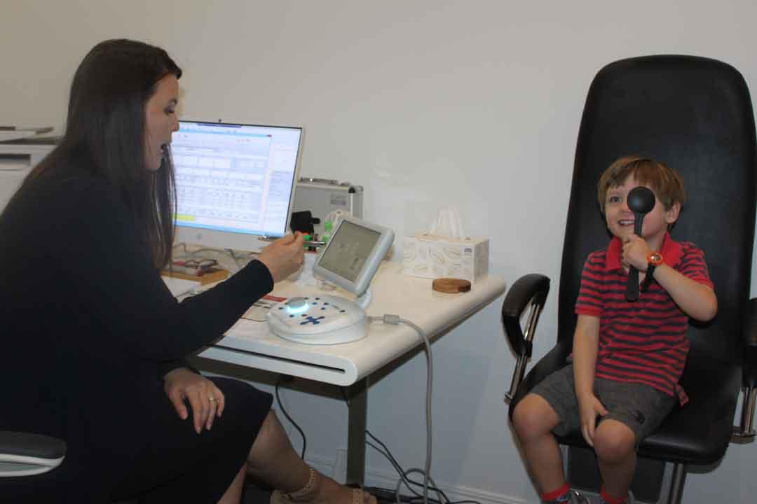 Kids eye test Eyecare Plus Ashgrove